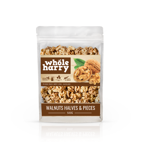 Whole Harry, packaging design