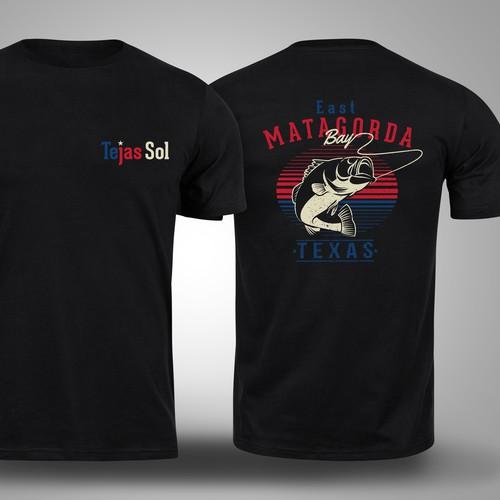 T-shirt design for Fishing