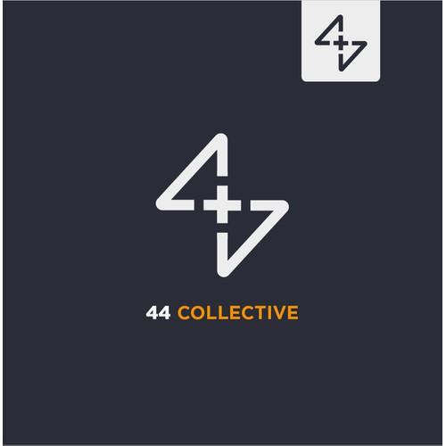 44 Collective logo design