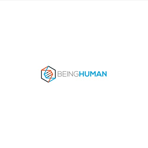 Logo for being human