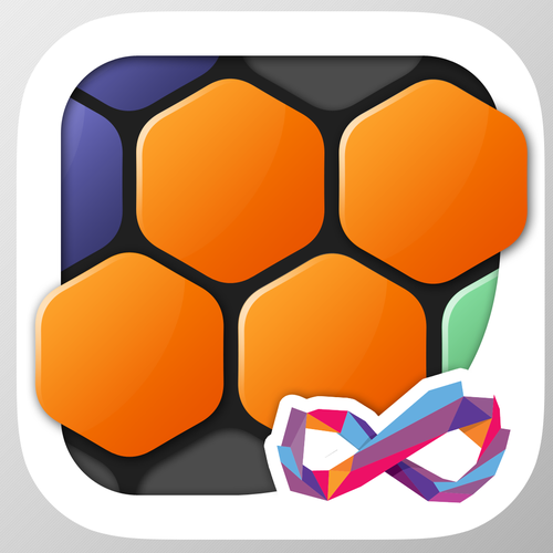 Beautiful iOS App Game Icon