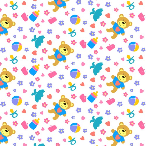 Baby Textile Pattern Contest