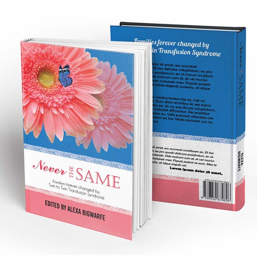 Romantic theme for healing book's cover