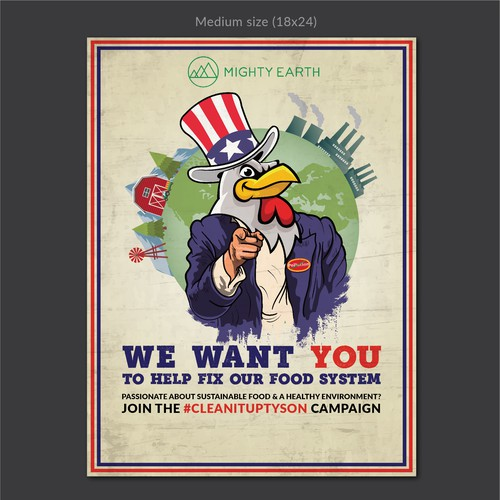 Environmental Campaign Recruitment Poster