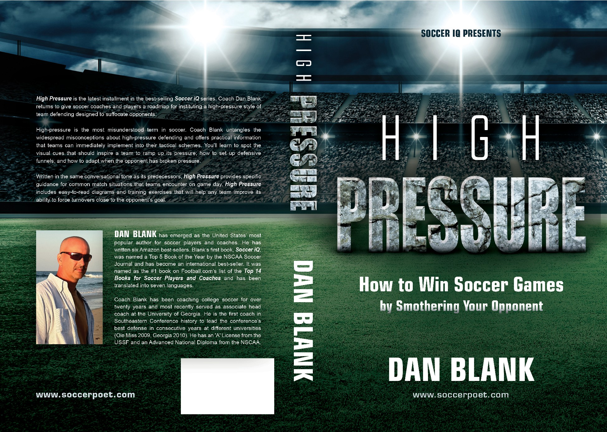 Create Book Cover for Best-Selling Soccer Author