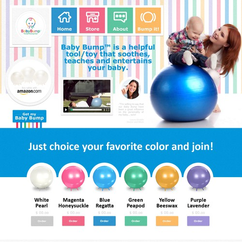 WebDesign :: Baby Bump - USA