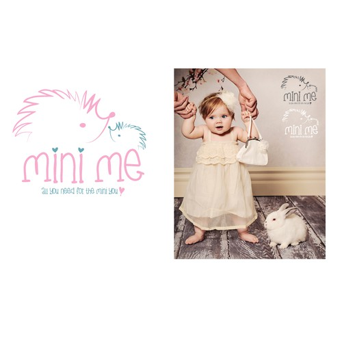"Create a cute logo for our ""Mini Me"" kids boutique"