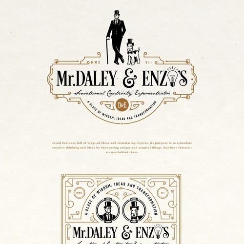 Mr. DALEY & ENZO'S LOGO PROPOSAL