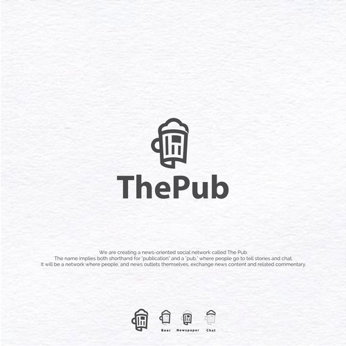 Logo Concept for ThePub