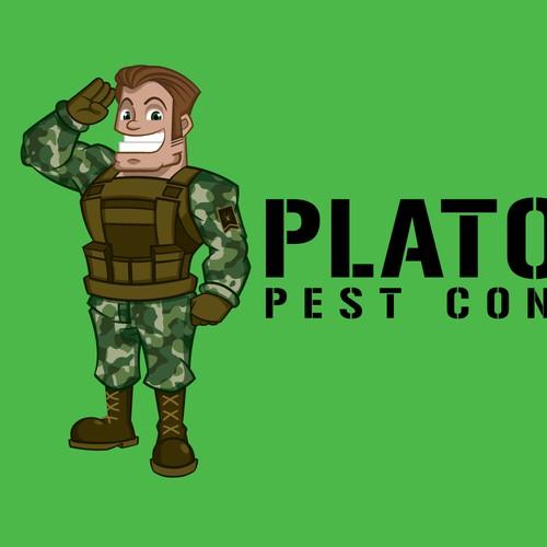 soldier mascot