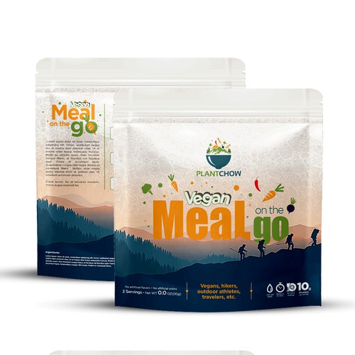 Vegan Meal Ready To Eat