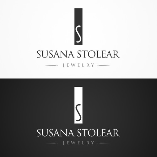 high end fashion jewelry designer logo