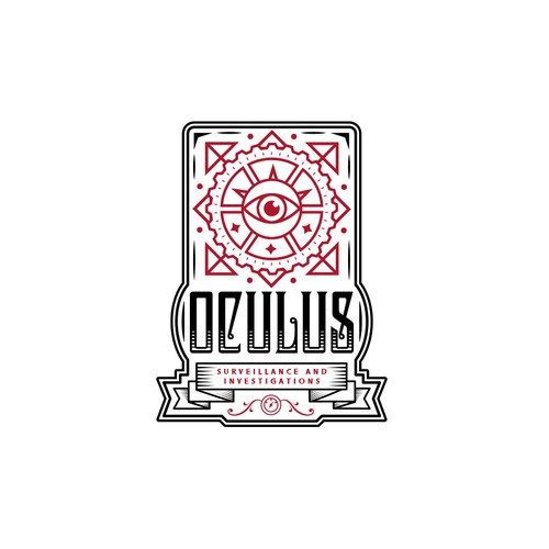 Logo for Security Company: Oculus Surveillance and Investigations