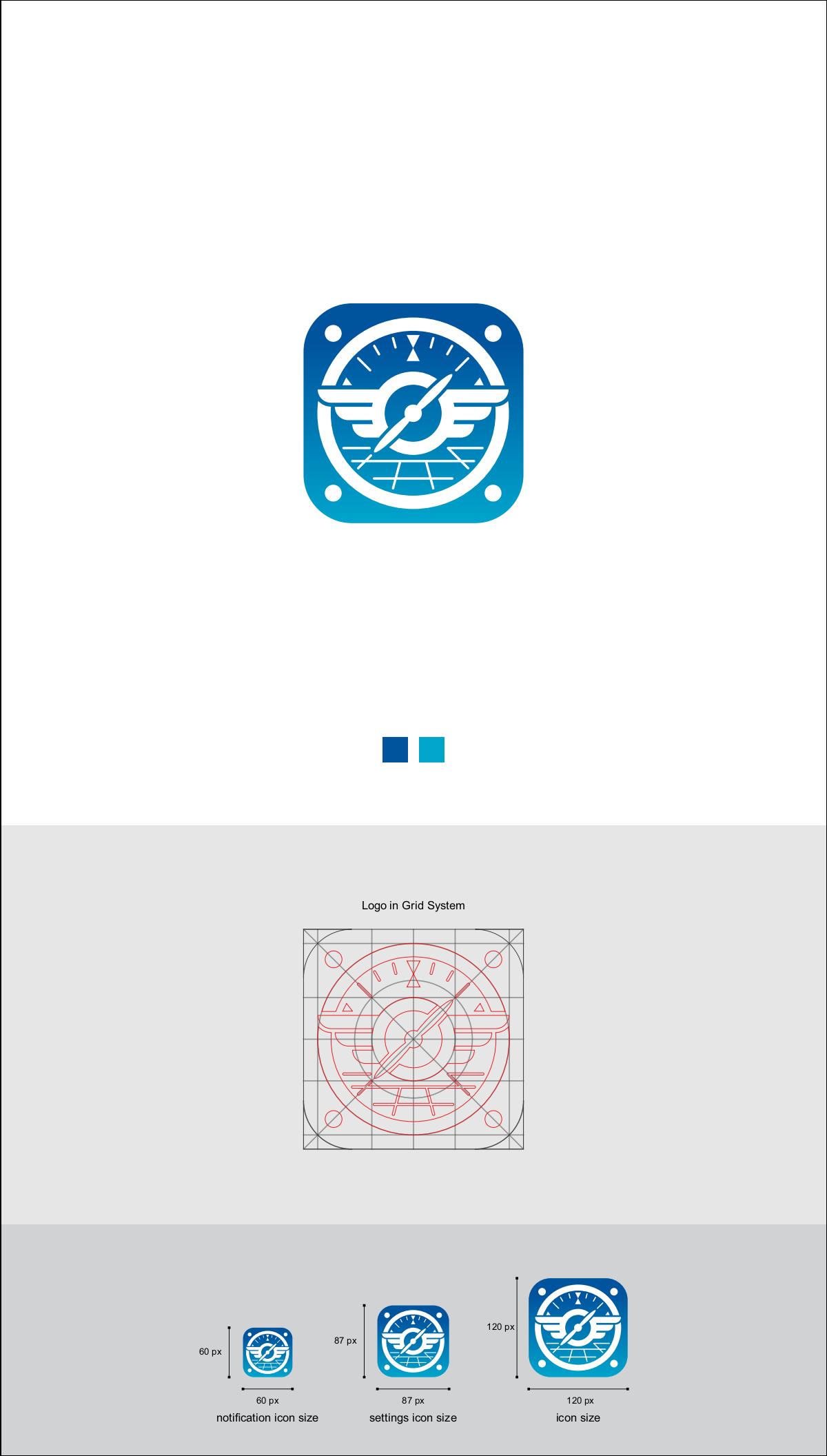 Logbook Pro App Icon Graphics