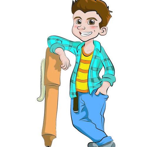 Kids Character Design - 1 boy/1 girl    (see description & images provided)