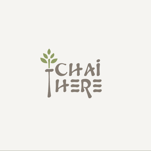 Organic logo for a tea company