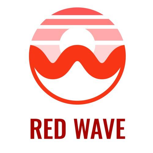 REDWAVE logo design