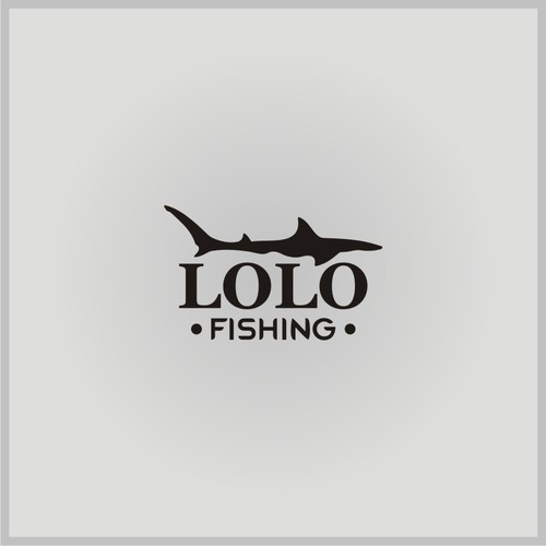 logo concept lolo fishing