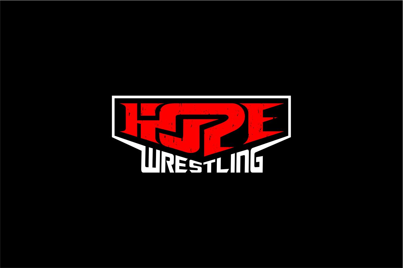 Create an intense new logo for HOPE PRO Wrestling!