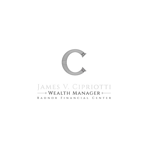 Branding logo design for a wealth manager