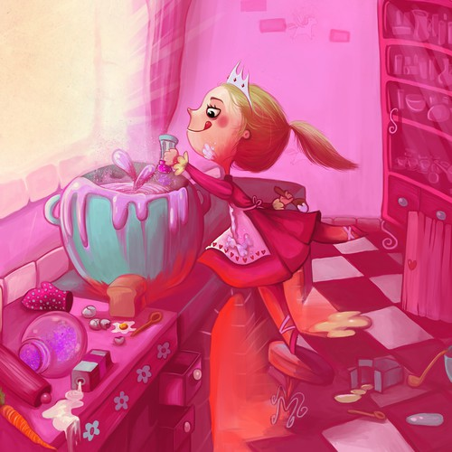 Cooking princess