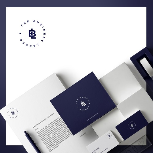 Classy logo for a financial firm