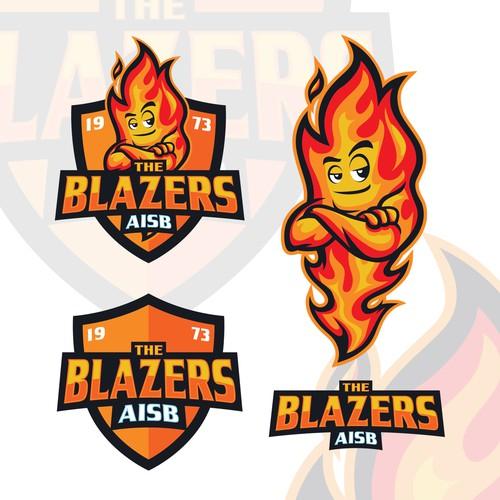 Blazers Mascot: Browse Professional Designs From Trafalgar Law