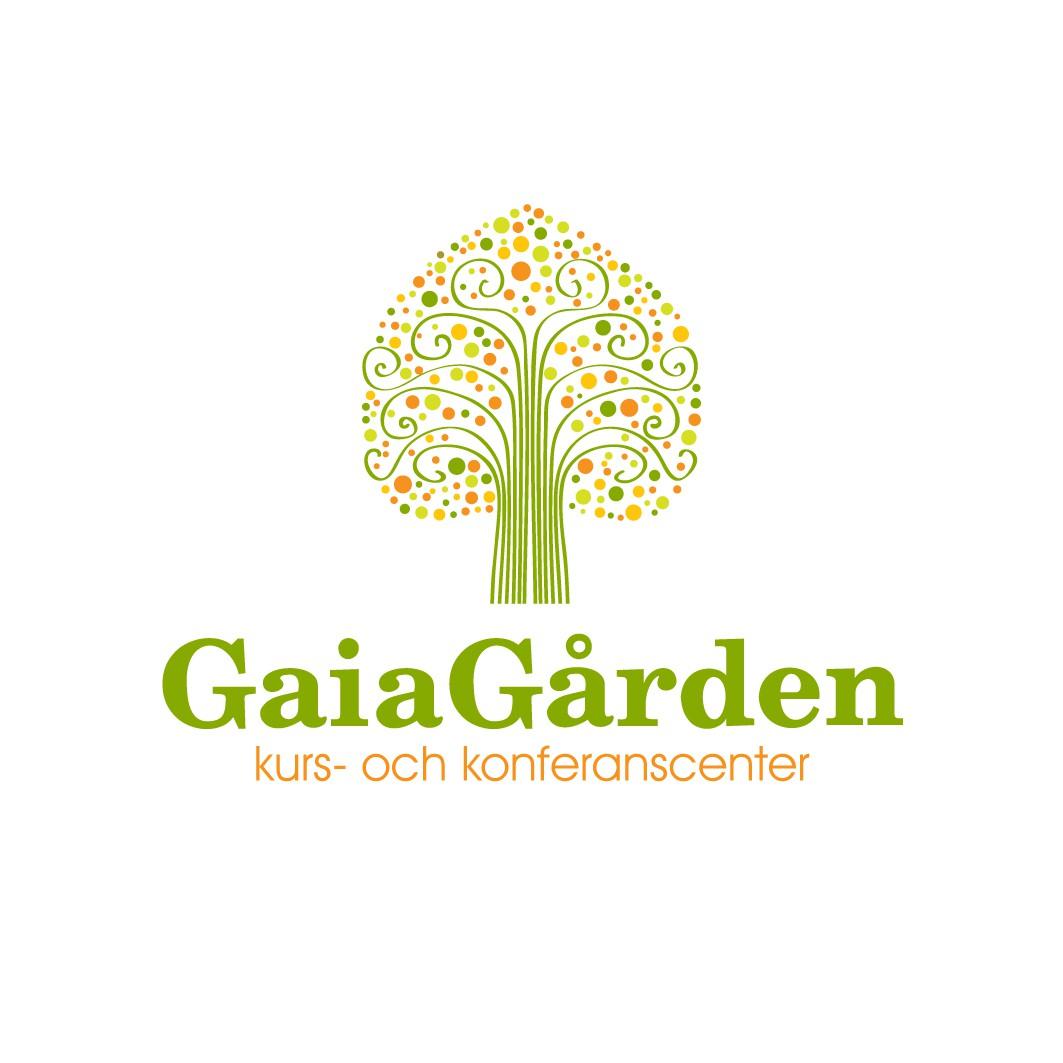 Help  Gaiagården Kurs- och konferanscenter with a new logo