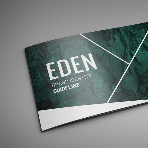Book Cover concept for Eden Church Brand Guide