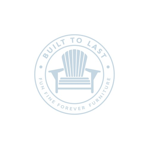 minimalist chair logo