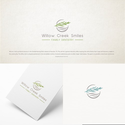 Logo and Brand Identity for Willow Creek Smiles