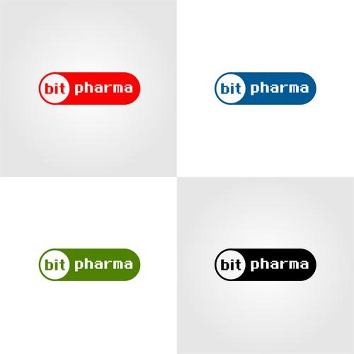 SImple logo Design for BitPharma