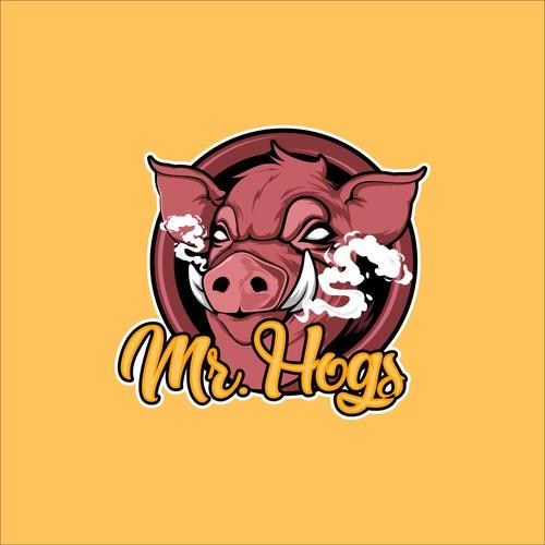 Mr.Hogs Logo