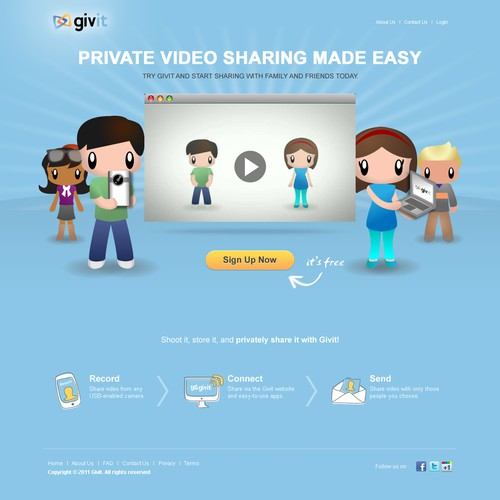 web design for givit