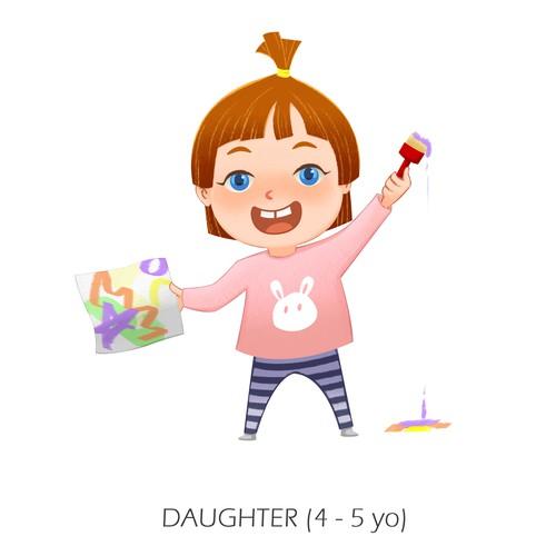 character design for children animation