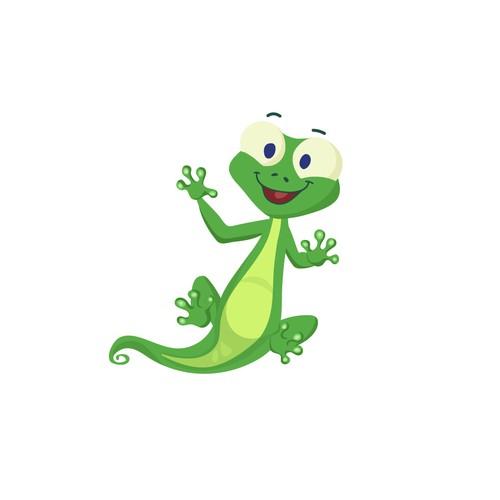 Gecko Character Design