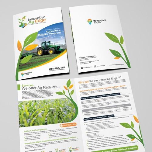 Help Innovative Family Farms, Inc. with a new brochure design