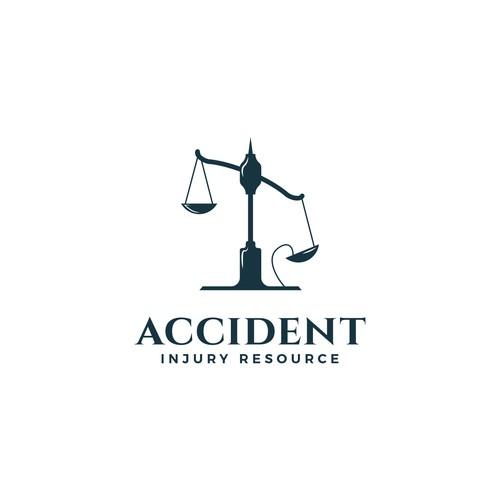 Logo design for  a car accident referral service