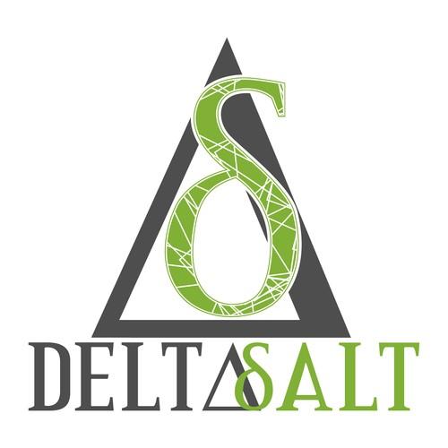 DeltaSalt logo concept