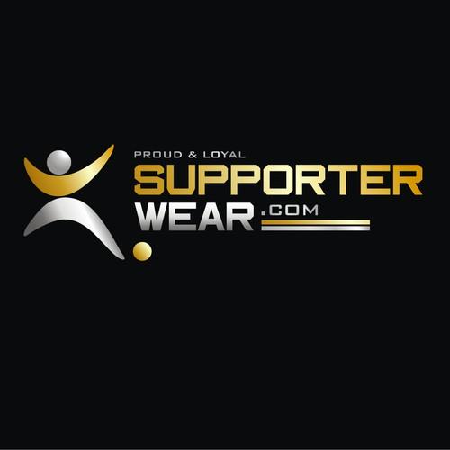 """Logo design for """"Supporterwear.com"""""""