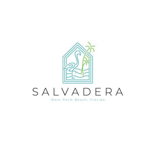 Minimalist logo concept for Salvadera