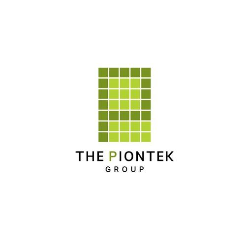 Piontek Group Logo Design