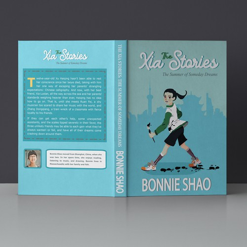 Playful book design for young adults.