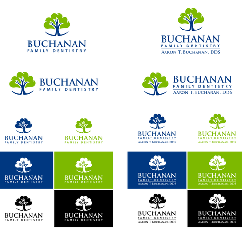 Buchanan dental logo