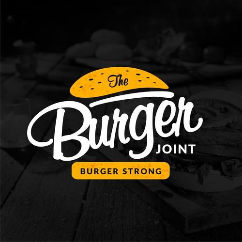logo concept for burger