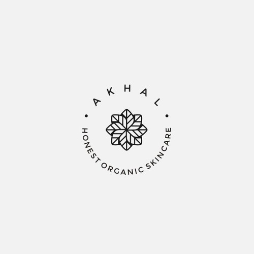 Logo for a socially responsible organic skincare company