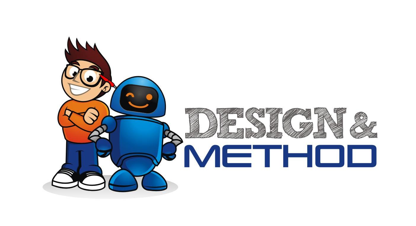 New logo for 'Design & Method'