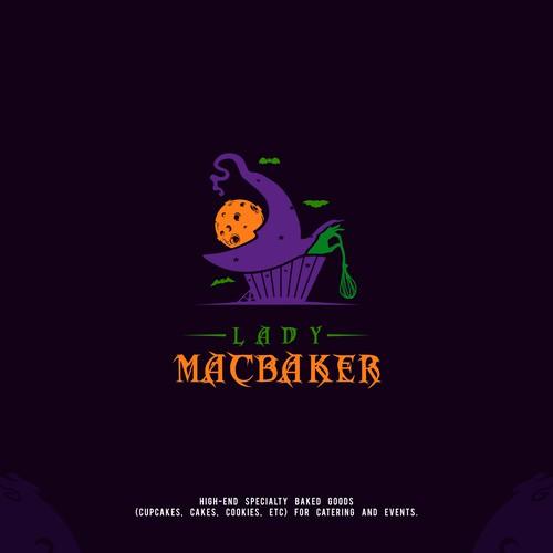 Halloween Cake Logo