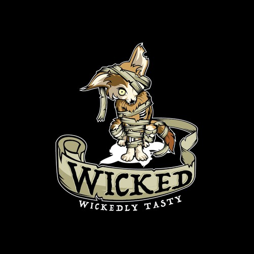 A Wicked hipster logo for a wicked company