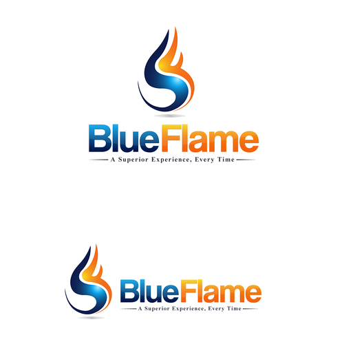 Modern Logo: Blue Flame Promotional Products  (Guaranteed Winner!)